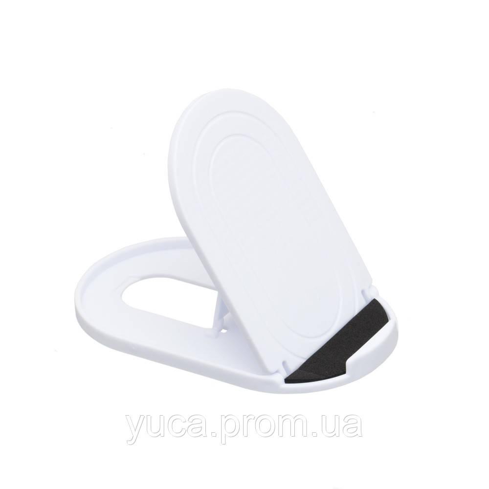 Подставка для телефона  Wave пластик белый