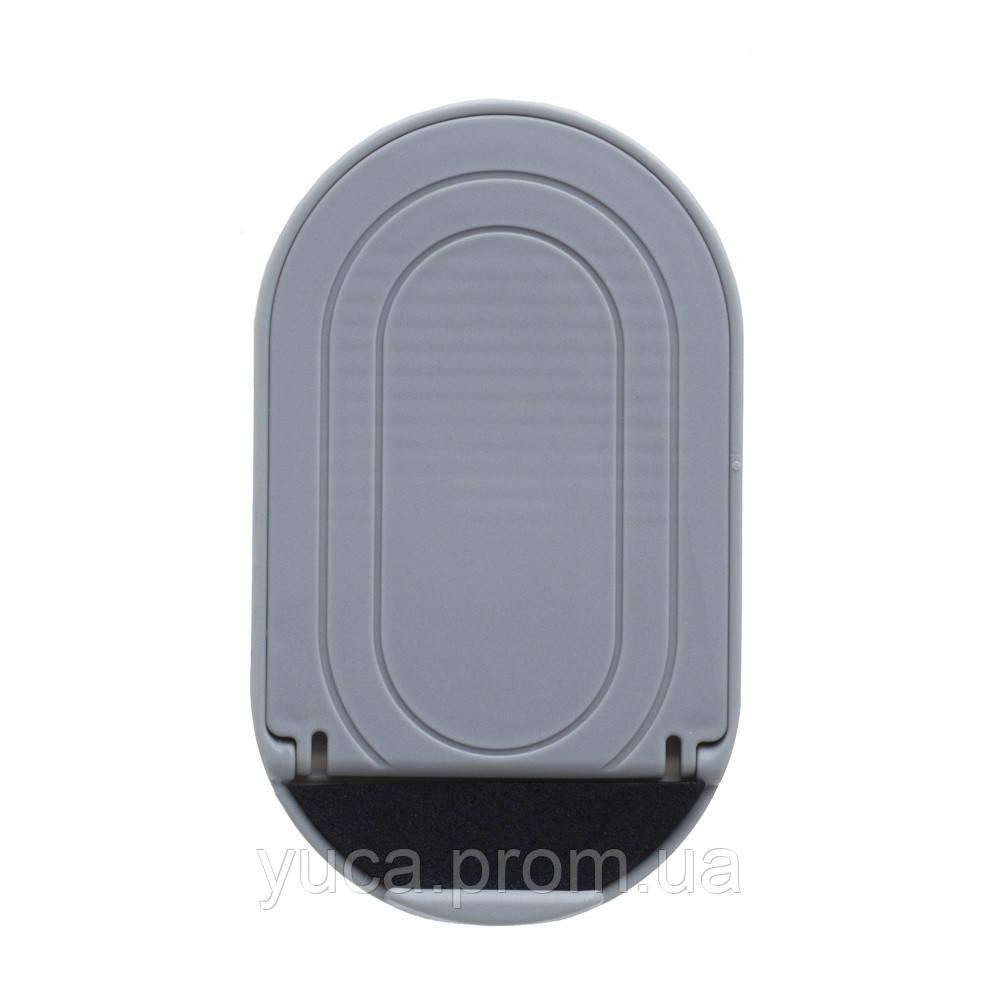 Подставка для телефона  Wave пластик серый