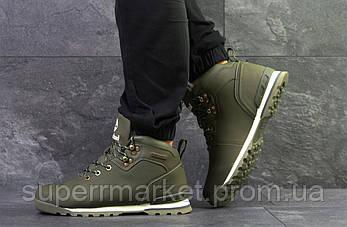 Кроссовки Timberland, зеленые  зима , код6635, фото 2