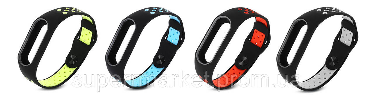 Ремешок MiJobs Sport для фитнес-браслета Xiaomi Mi Band 2 OLED
