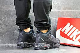 Кроссовки Nike Air Max 95 темно-синие  зима , код6694, фото 3