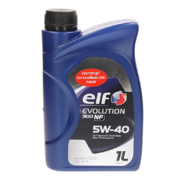 Масло моторное ELF EVOLUTION 900 NF 5W-40 1л