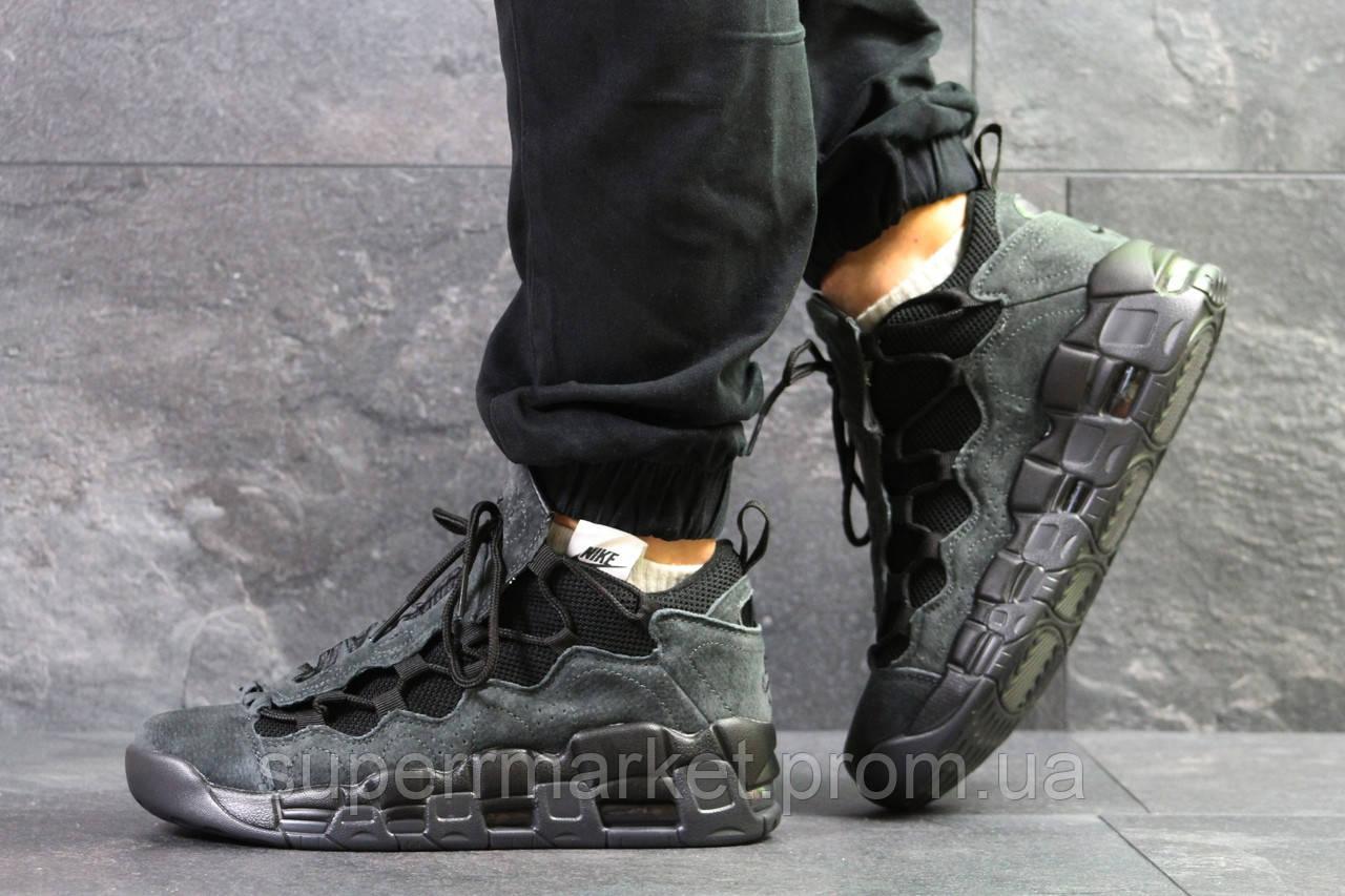 Кроссовки Nike Air Uptempo 96 серые, код6713