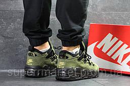 Кроссовки Nike Air Uptempo 96 темно-зеленые, код6715, фото 2