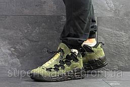Кроссовки Nike Air Uptempo 96 темно-зеленые, код6715, фото 3