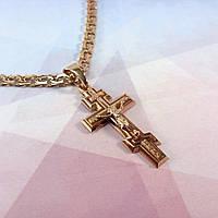 Мужской нательный крест из золота