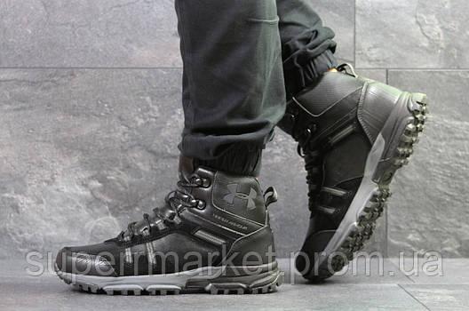 Ботинки Under Armour, черные  зима , код6721, фото 2