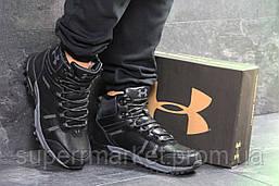 Ботинки Under Armour, черные  зима , код6721, фото 3