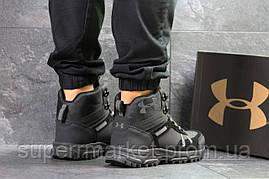Ботинки Under Armour, черные  зима , код6722, фото 3