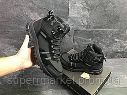 Ботинки Under Armour, черные  зима , код6722, фото 2