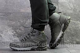 Ботинки Under Armour, серые (зима). Код 6725, фото 2