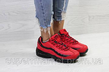 Кроссовки Nike 95 красные (зима). Код 6736, фото 2