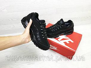 Кроссовки Nike 95 черные (зима). Код 6739, фото 2