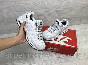 Кроссовки Nike 95 белые (зима). Код 6740, фото 3