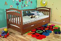 Кровать детская Алиса из натурального дерева, фото 1