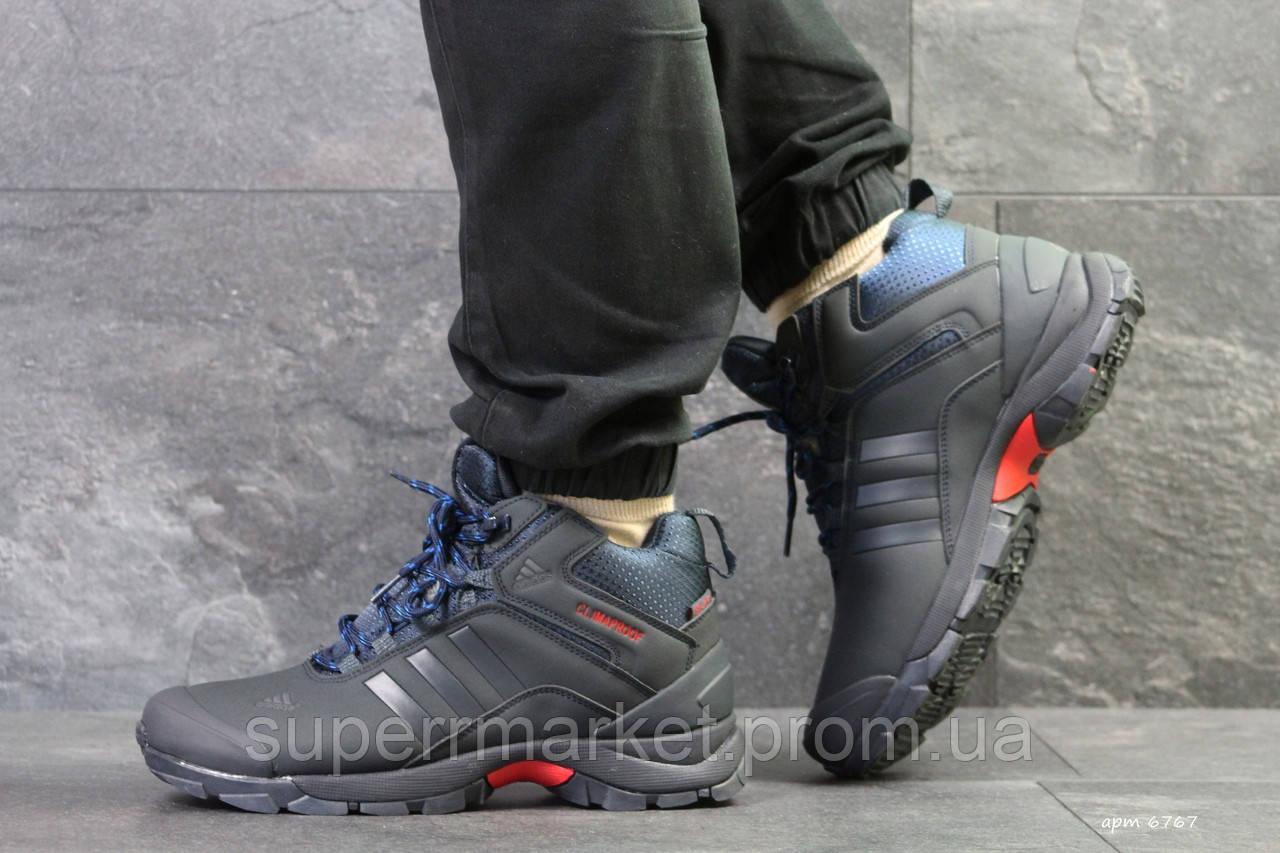 Кроссовки Adidas Climaproof (зима). Темно-синий