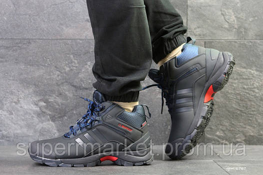 Кроссовки Adidas Climaproof (зима). Темно-синий, фото 2