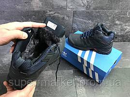 Кроссовки Adidas Climaproof (зима). Темно-синий, фото 3
