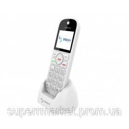 Телефон Sigma Comfort 50 Senior White, кредл в комплекте, фото 2