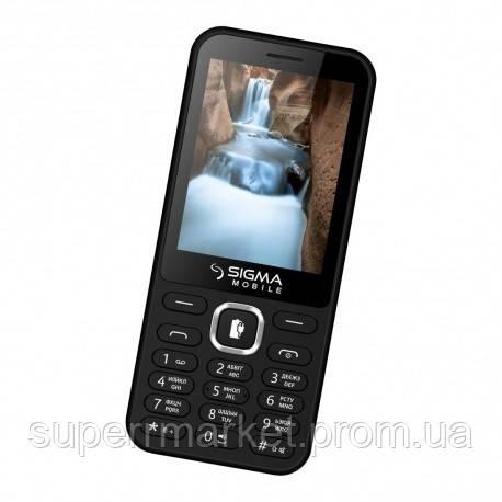 Телефон Sigma X-Style 31 Power 3100 mAh Black