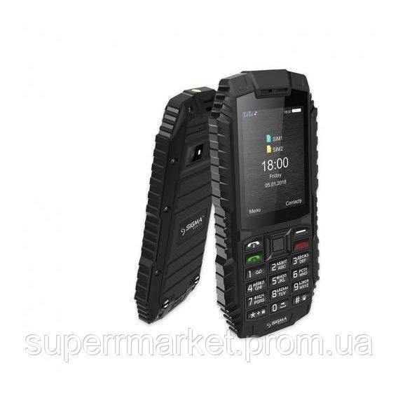 Телефон Sigma X-treme DT68 2100 мАч  Black
