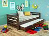 Кровать детская Немо из натурального дерева