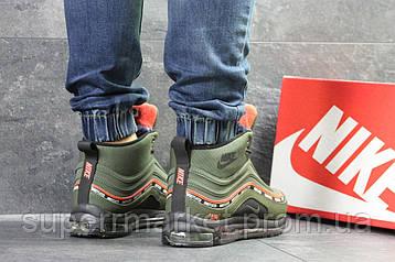 Кроссовки Nike Air Max 97 зеленые  зима , код6846, фото 2