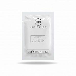 Vitamin Lash BTX у саші 1 ml My Lamination препарат для вій і брів