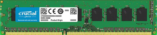 "Оперативная память Crucial 2ГБ DDR2-800 UDIMM (CT25664AA800)  ""Over-Stock"" Б/У"