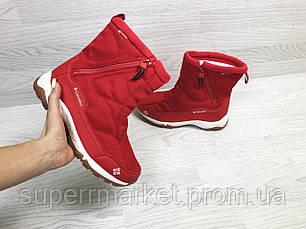 Ботинки Columbia красные (зима). Код 6923, фото 3