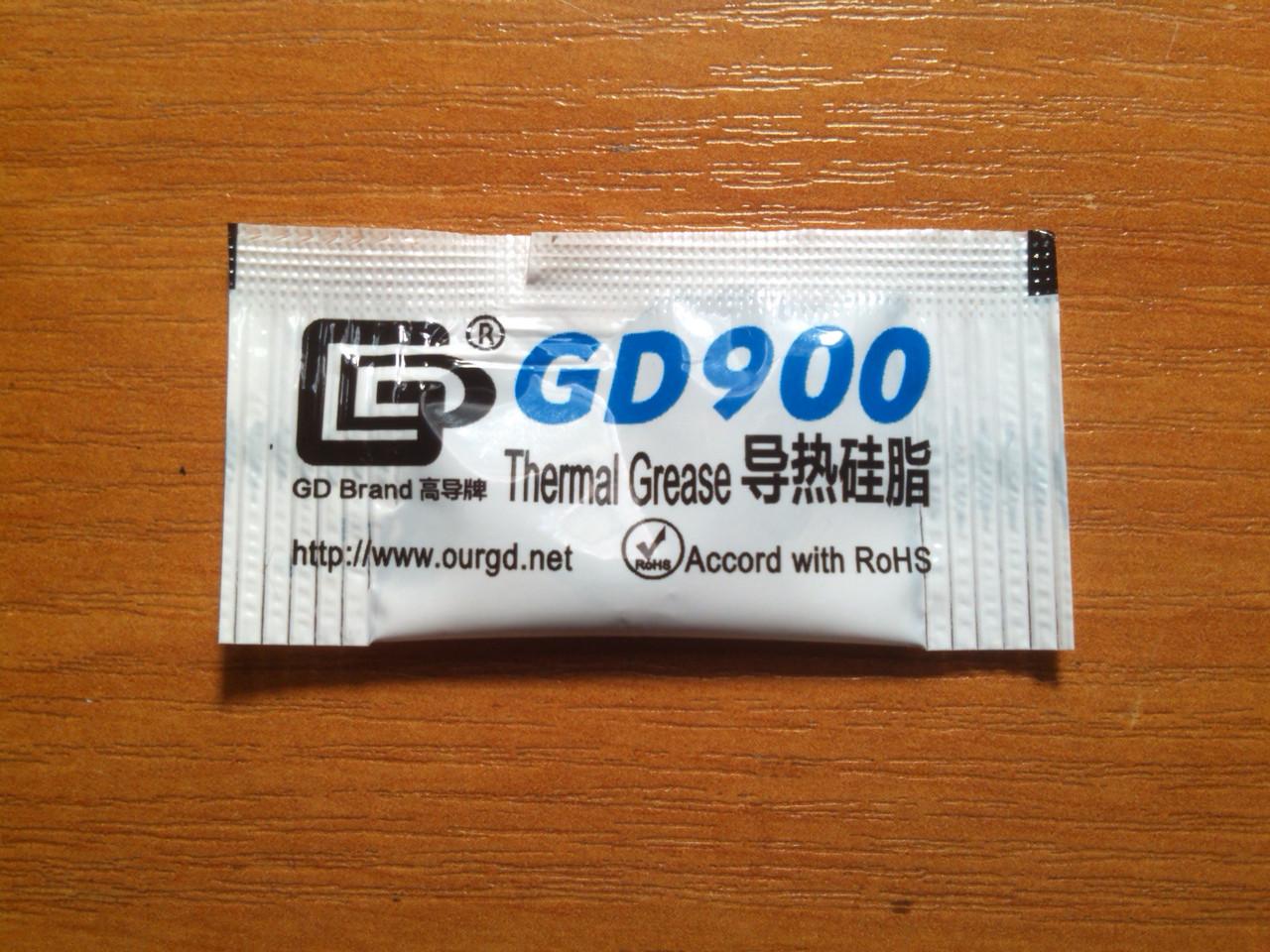 Термопаста GD900 0.5g