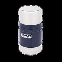 Пищевой термос Stanley Classic 0.5 л темно-синий, фото 1
