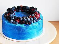Барвник харчовий Блискучий синій, 100г