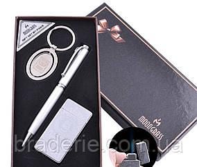 Подарунковий набір Moongrass AL-111 Ручка Брелок Запальничка