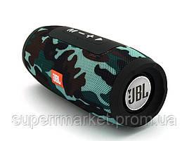 JBL Charge mini E3+ 6W копия, колонка с Bluetooth FM MP3, Squad камуфляжная, фото 2