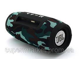 JBL Charge mini E3+ 6W копия, колонка с Bluetooth FM MP3, Squad камуфляжная, фото 3