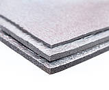 Полотно ППЭ пенополиэтилен, т. 2 мм, метализированое РЕТ, TERMOIZOL®, рулон 50 м. п., фото 2