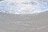 Полотно ППЭ пенополиэтилен, т. 2 мм, метализированое РЕТ, TERMOIZOL®, рулон 50 м. п., фото 6
