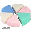 Спонж латексный треугольный Christian (набор) CSP-665