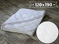 Наматрасник микрофибра 120х190 см. по 4-м углам