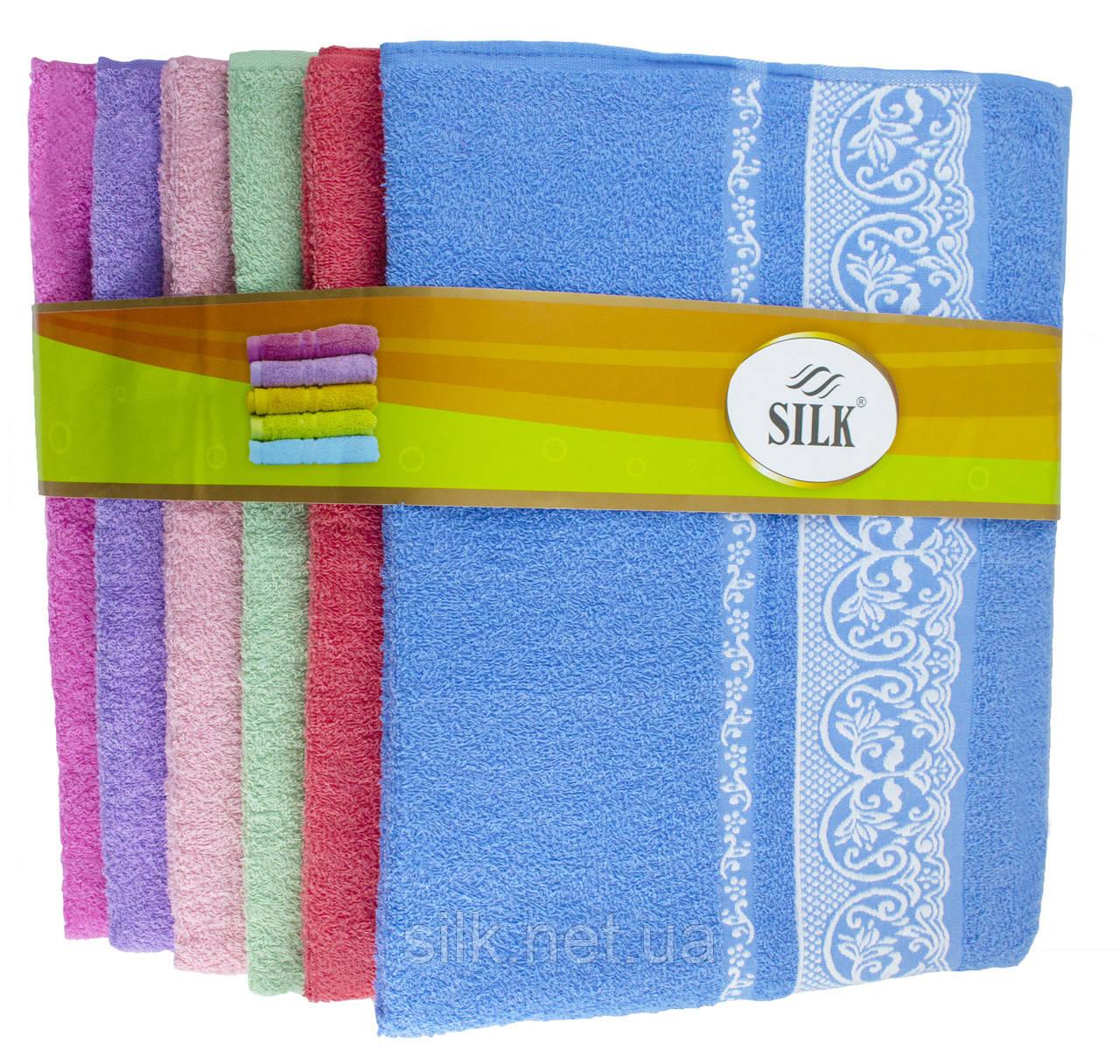 Набір банних рушників Silk, 90х150см