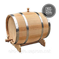 Бочка дубовая для вина 30л., обруч нерж. (бочка деревянная для коньяка) от производителя