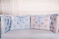 Защитные бортики для детской кроватки  , фото 1