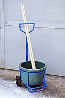 Тележка для уборки мусора под бак, фото 1