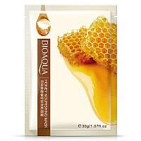 Тканевая маска для лица с экстрактом меда Bioaqua Honey Nourishing Mask (30г)