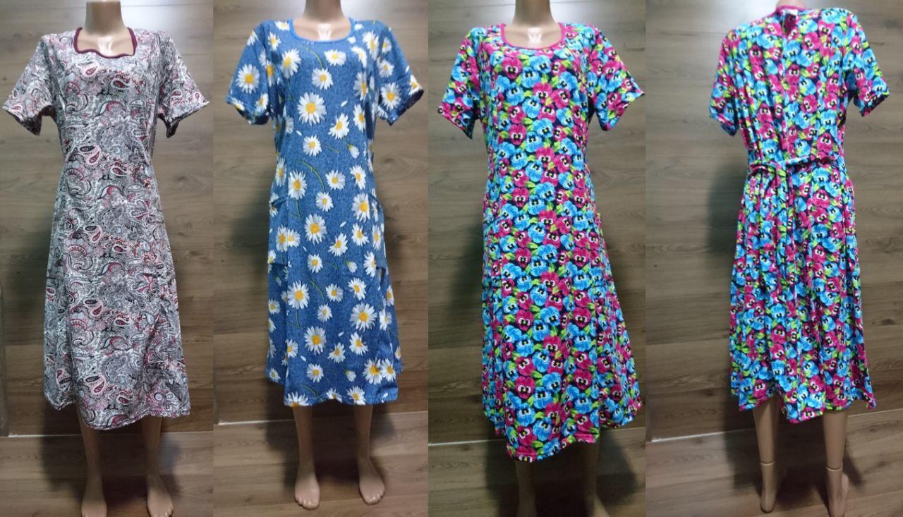 Платье с пояском сзади (ботал)