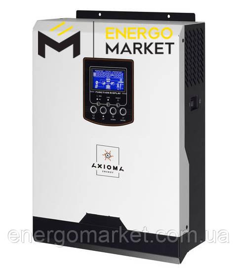 Инвертор гибридный AXIOMA energy ISMPPT 3000 2,4 кВт (ИБП, MPPT контроллер 40А)