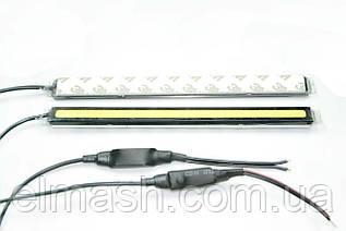 DRL, ДХО, дневные ходовые огни, 12V COB 17 cм IP65 + драйвер