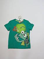 Распродажа!Детская футболка для мальчика Glo Story р,122-128