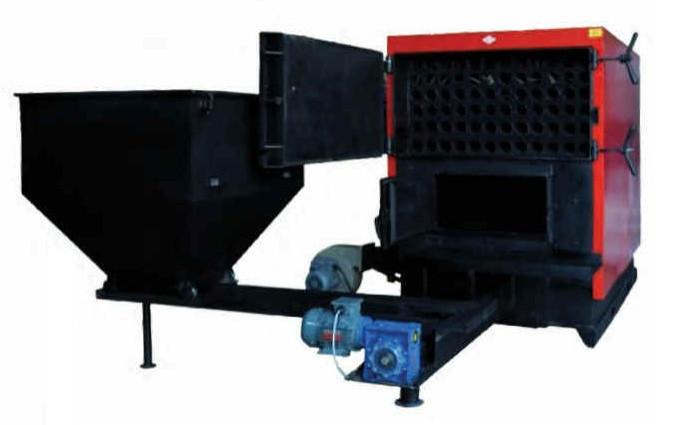 Стальной промышленный твердотопливный котел с автоматической подачей топлива RÖDA (РОДА) RK3G/S-520 кВт